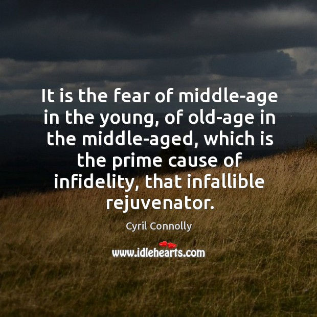 Image, It is the fear of middle-age in the young, of old-age in the middle-aged