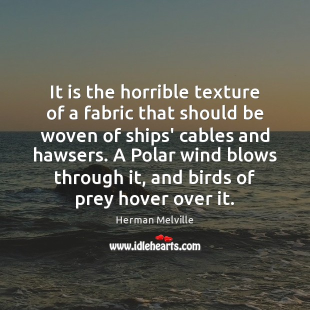 Image, It is the horrible texture of a fabric that should be woven