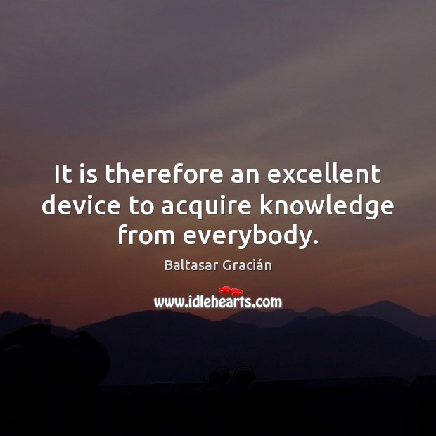It is therefore an excellent device to acquire knowledge from everybody. Image