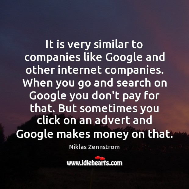 Image, It is very similar to companies like Google and other internet companies.