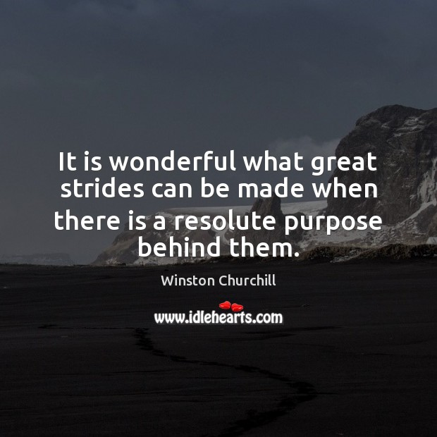 Winston Churchill Picture Quote: It is wonderful what ...