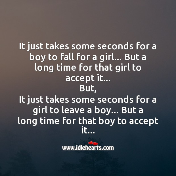 It just takes some seconds Image