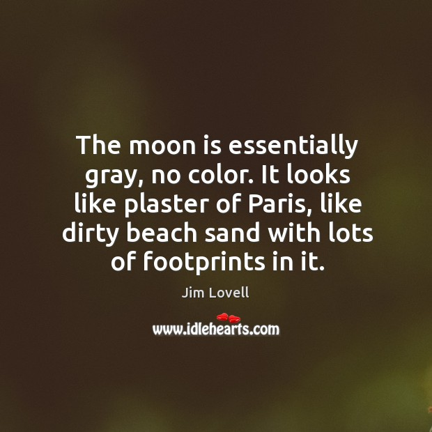 It looks like plaster of paris, like dirty beach sand with lots of footprints in it. Image