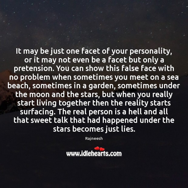 Image, It may be just one facet of your personality, or it may