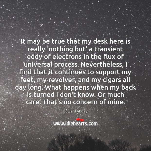 Image, It may be true that my desk here is really 'nothing but'