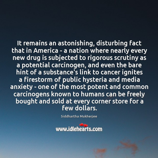 It remains an astonishing, disturbing fact that in America – a nation Image