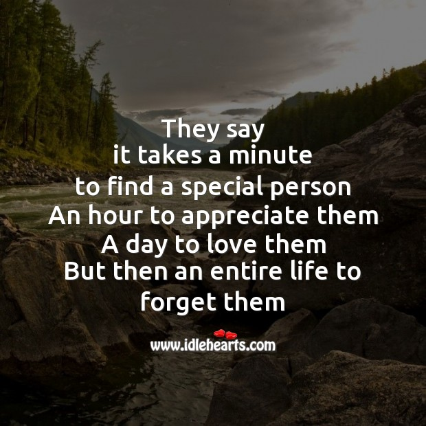 It takes an entire life to forget them Image