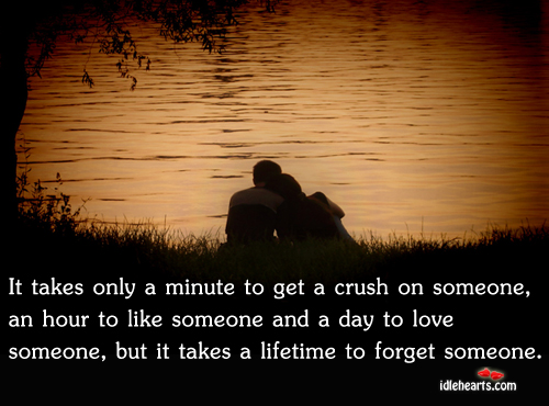 It Takes Only A Minute To Get A Crush On Someone…