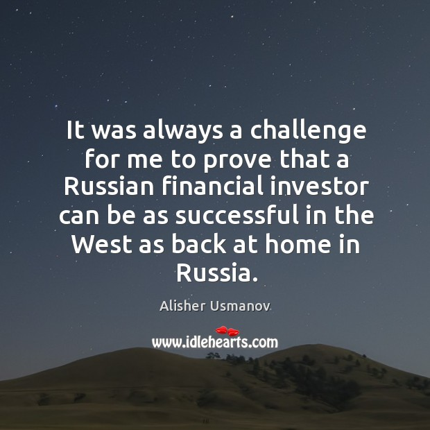 Image, It was always a challenge for me to prove that a Russian