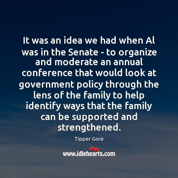 Image, It was an idea we had when Al was in the Senate