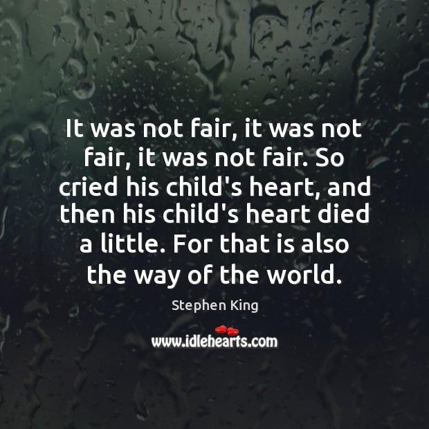 Image, It was not fair, it was not fair, it was not fair.