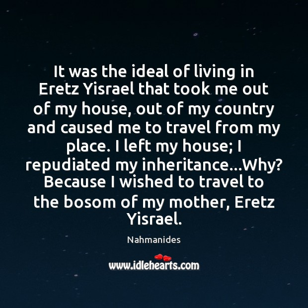 Image, It was the ideal of living in Eretz Yisrael that took me