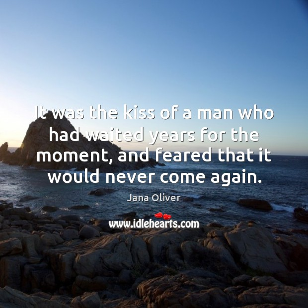 It was the kiss of a man who had waited years for Image