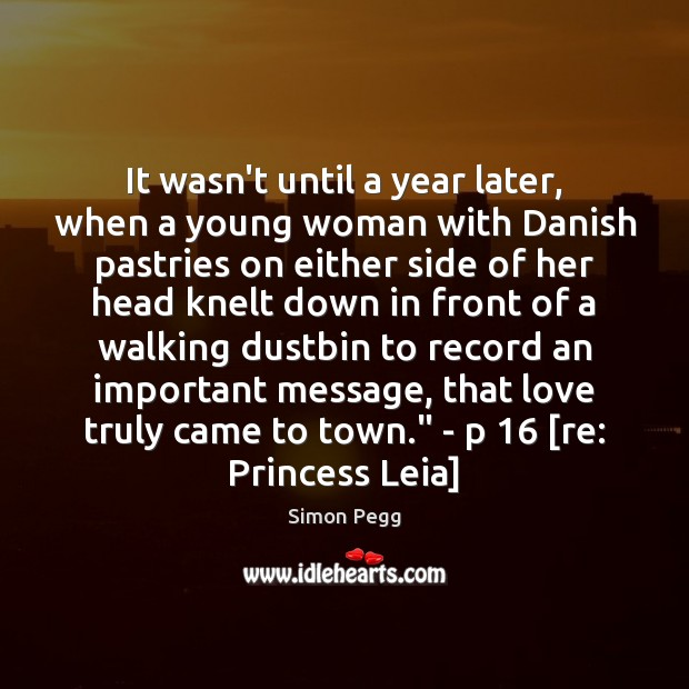 Image, It wasn't until a year later, when a young woman with Danish