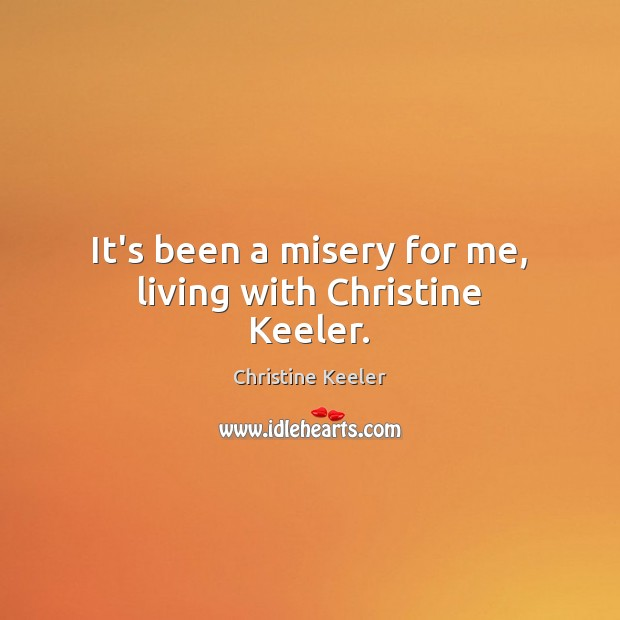 Picture Quote by Christine Keeler