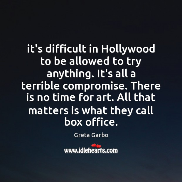 Picture Quote by Greta Garbo