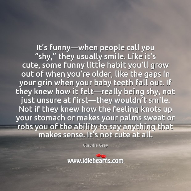 Funny Quotes About Being Shy: Quotes About Being Shy / Picture Quotes And Images On