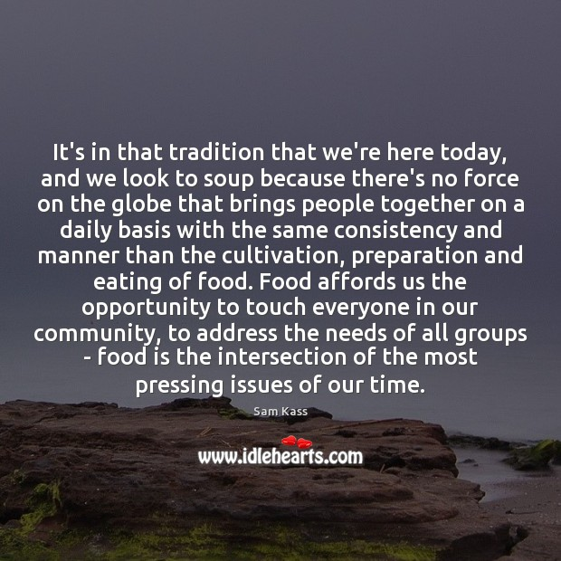 It's in that tradition that we're here today, and we look to Image