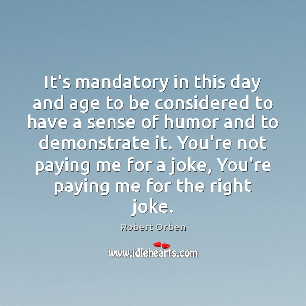 It's mandatory in this day and age to be considered to have Image