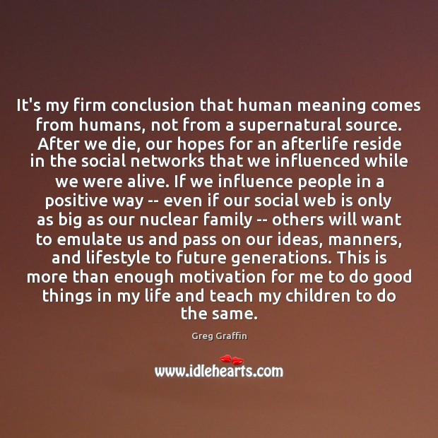 It's my firm conclusion that human meaning comes from humans, not from Image