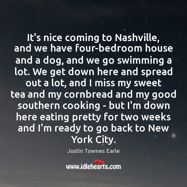 Image, It's nice coming to Nashville, and we have four-bedroom house and a