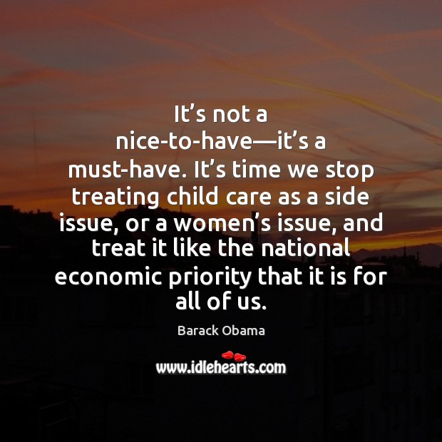 It's not a nice-to-have—it's a must-have. It's time Priority Quotes Image