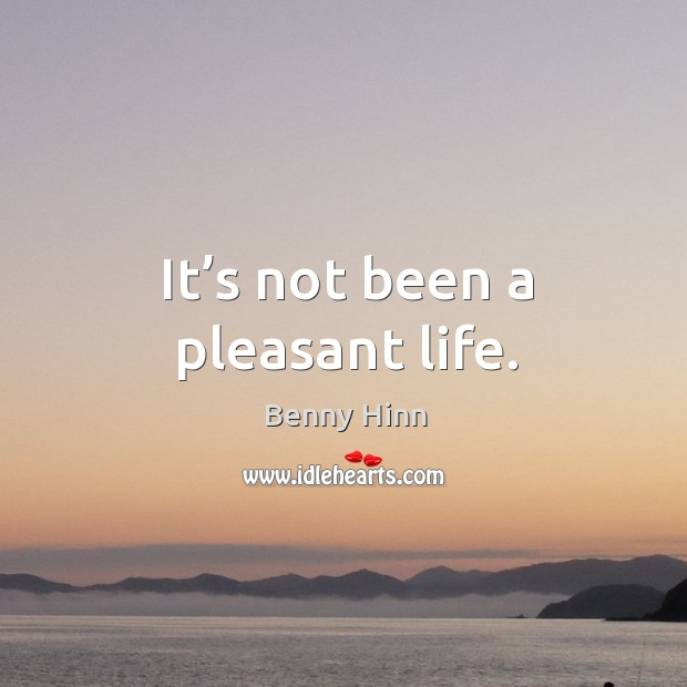 Picture Quote by Benny Hinn