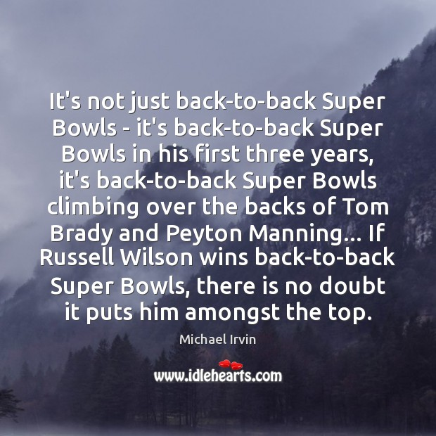It's not just back-to-back Super Bowls – it's back-to-back Super Bowls in Image