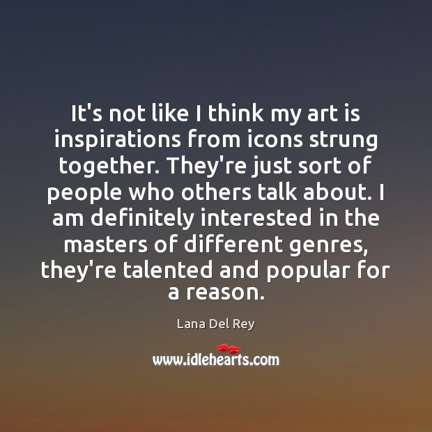 It's not like I think my art is inspirations from icons strung Image