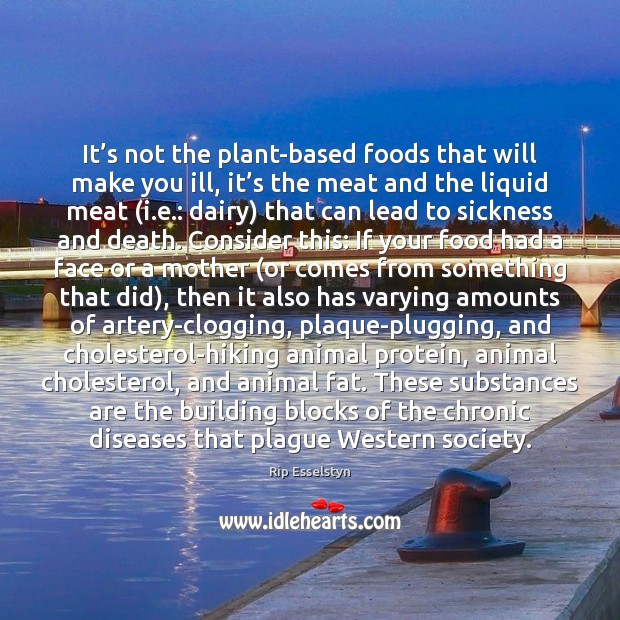 Image, It's not the plant-based foods that will make you ill, it'