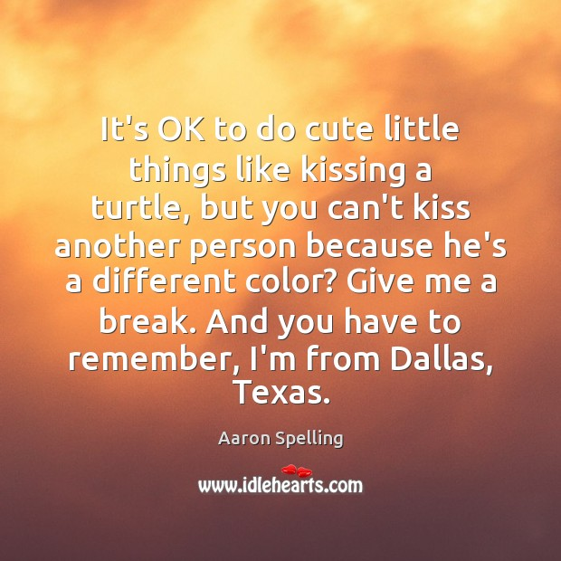 Image, It's OK to do cute little things like kissing a turtle, but