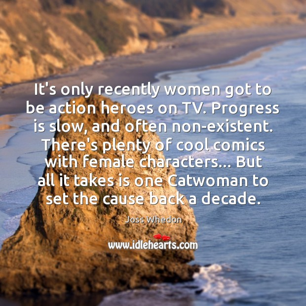 Image, It's only recently women got to be action heroes on TV. Progress