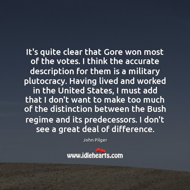 Image, It's quite clear that Gore won most of the votes. I think