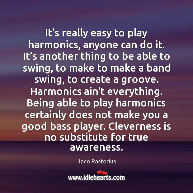 Image, It's really easy to play harmonics, anyone can do it. It's another