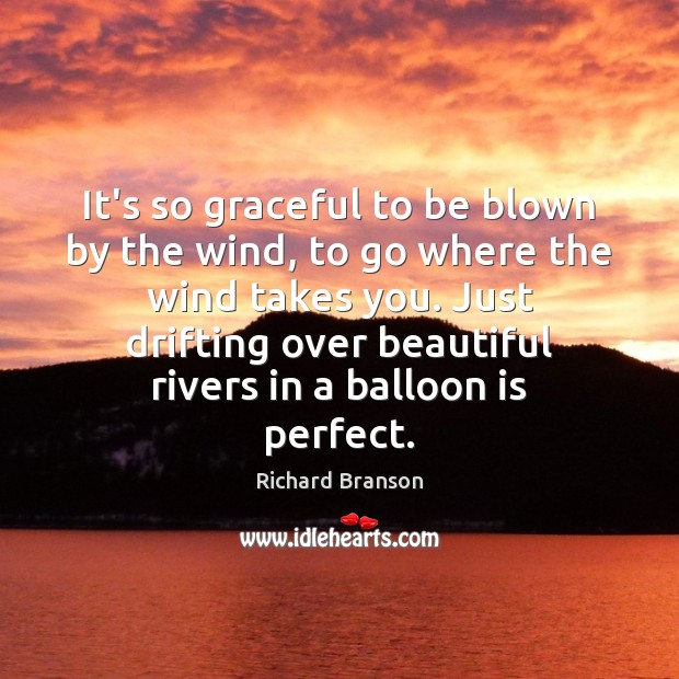 Image, It's so graceful to be blown by the wind, to go where