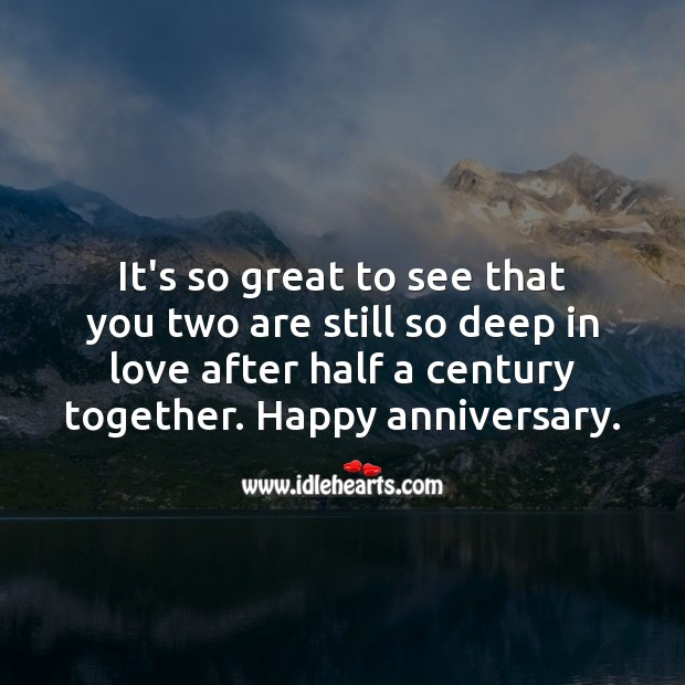 It's so great to see that you two are still so deep in love. Anniversary Messages Image
