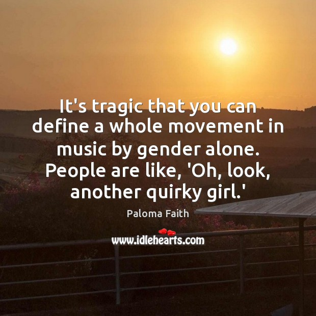 It's tragic that you can define a whole movement in music by Image