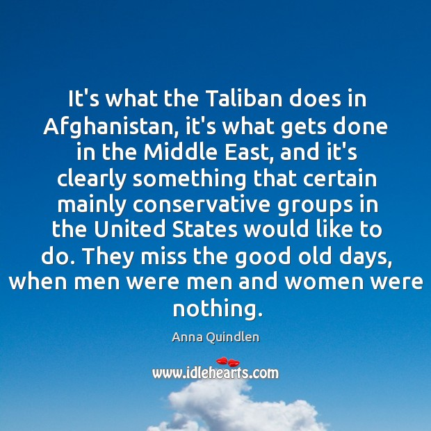 Image, It's what the Taliban does in Afghanistan, it's what gets done in