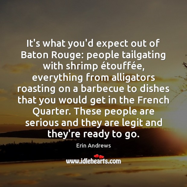 Image, It's what you'd expect out of Baton Rouge: people tailgating with shrimp é