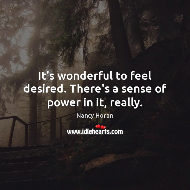 Picture Quote by Nancy Horan
