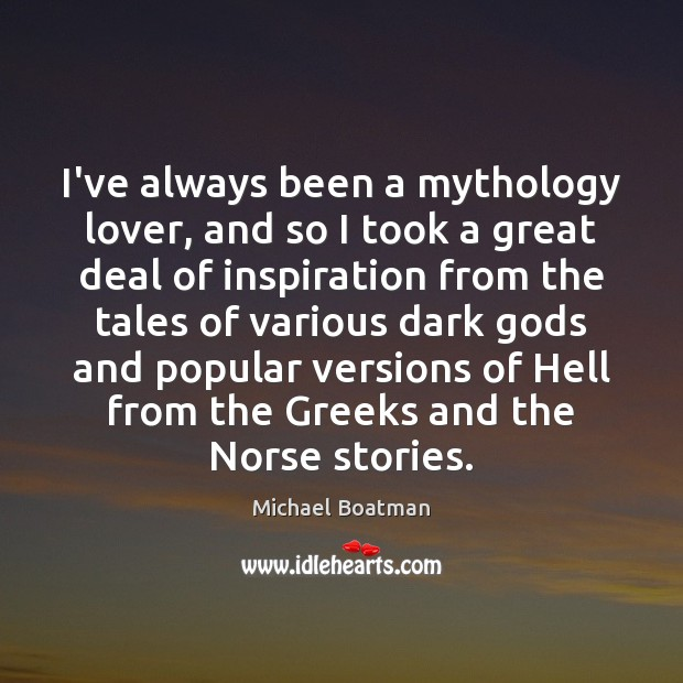 Image, I've always been a mythology lover, and so I took a great
