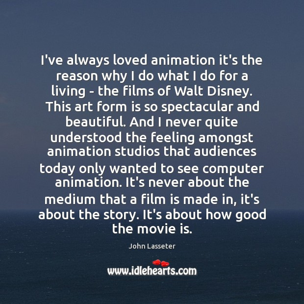 Image, I've always loved animation it's the reason why I do what I