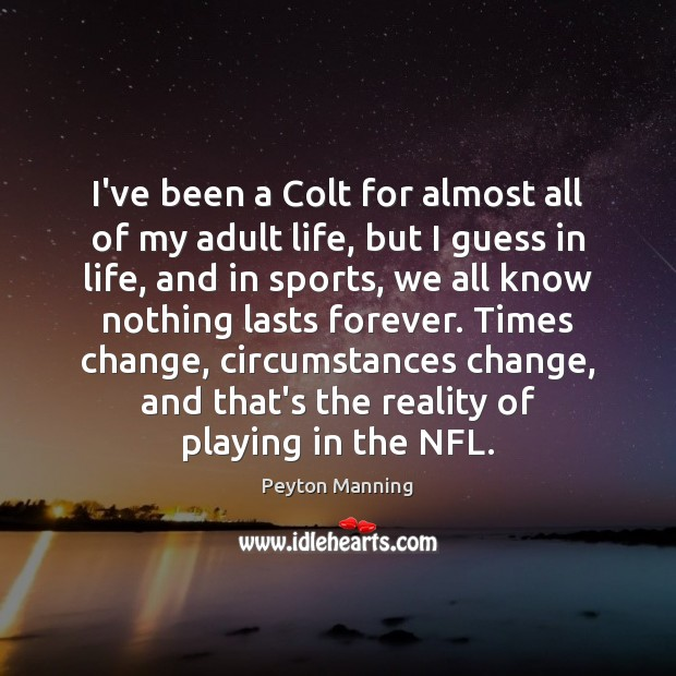 I've been a Colt for almost all of my adult life, but Image