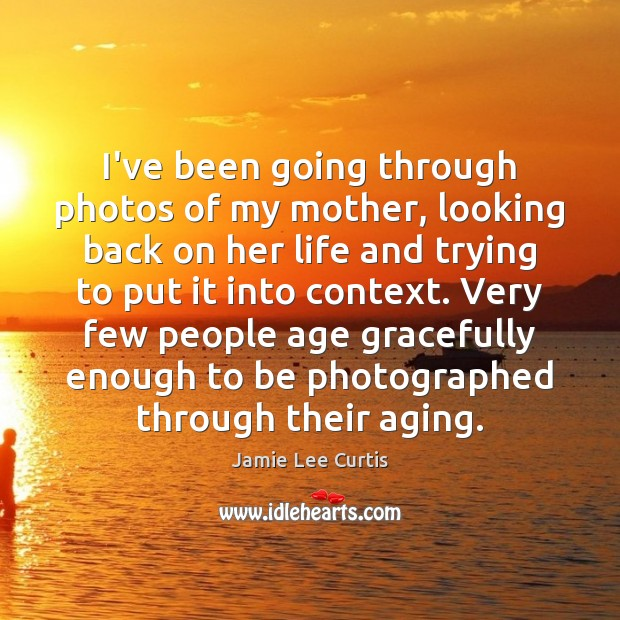 Image, I've been going through photos of my mother, looking back on her