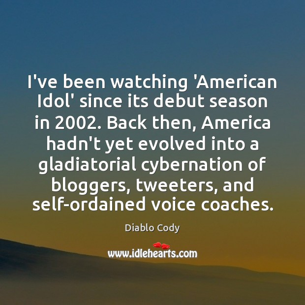 Image, I've been watching 'American Idol' since its debut season in 2002. Back then,