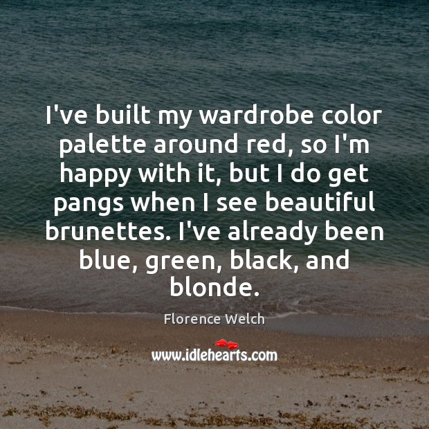 I've built my wardrobe color palette around red, so I'm happy with Image