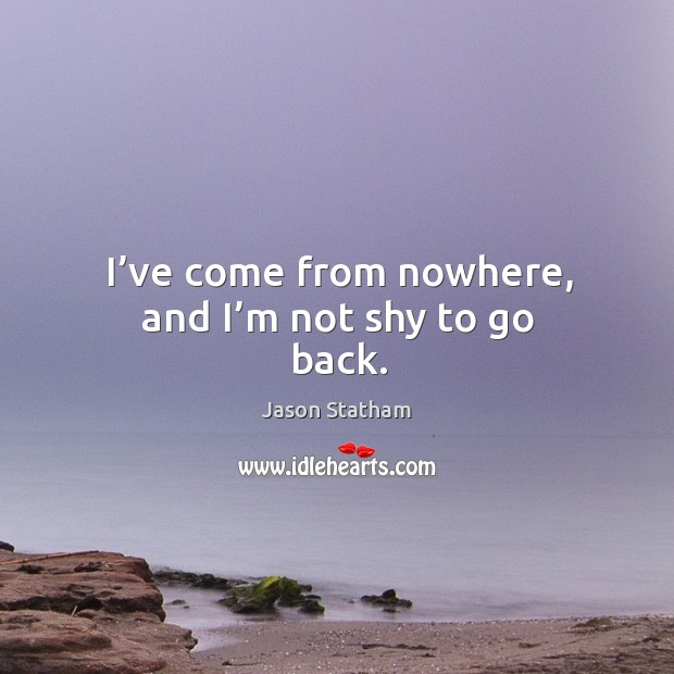 Picture Quote by Jason Statham