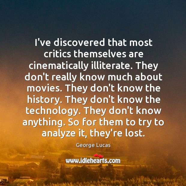 Picture Quote by George Lucas