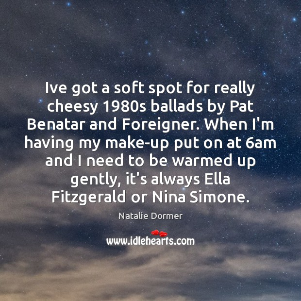 Ive got a soft spot for really cheesy 1980s ballads by Pat Image