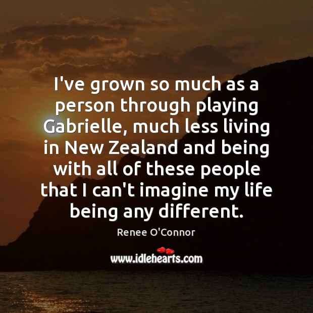 Picture Quote by Renee O'Connor